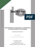 Implementación de Tecnologías de La Información y Las Comunicaciones
