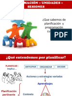 PTT QUÉ SABEMOS DE PLANIFICACIÓN CURRICULAR