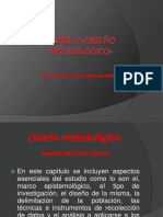 Modelo de Capitulo Diseño Metodológico