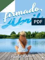 1. Firmado, Abril (Serie Abril) - Paula Ramos