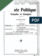 G. Scelle - La Politique Extérieure Francaise Et La Société Des Nations