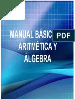 Manual de Aritmetica y Algebra Noviembre 17