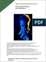 Derren Brown - Truques Mentalismo