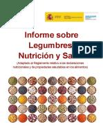 Informe Legumbres Nutricion Salud