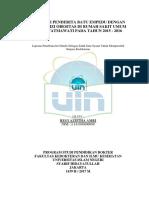 Proporsi penderita batu empedu dengan obesitas di RSUP Fatmawati tahun 2015-2016