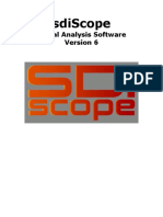 Sdiscope Manual v6