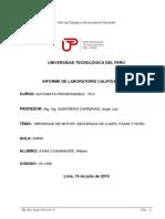 Laboratorio calificado N° 3 PLC