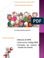 EXPOSICION DE BPM buenas practicas de manufactura, hogar infantil
