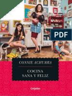 Cocina, Sana y Feliz - Connie Achurra