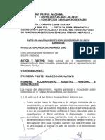 Allanamiento - Abogado de Keiko Fujimori - Oré Guardia Scribd
