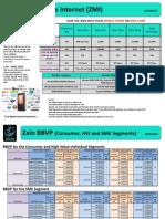 Zain Broadband Value Proposition DataSheet