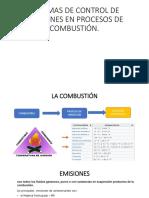 Sistemas de Control de Emisiones en Procesos de Combustion