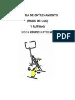 Sistema de Entrenamiendo Body Crunch Xtreme 122