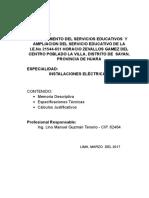 MEMORIA ELECTRICA  COLEGIO HUACHO  OK.doc