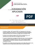 guias de PROGRAMACION APLICADA JSP