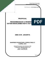 Proposal ISO 9001 2008 SMA N 89 Jakarta