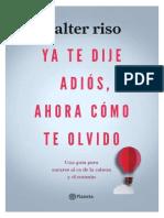 357530732 Ya Te Dije Adios Ahora Como Te Olvido PDF