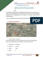 INFORME N°3 (Nivelacion)