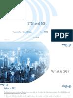 ETSI what is 5G