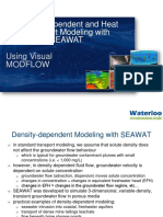 Density Dependent Modeling SEAWAT