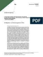 Anfrage Bundesregierung Grenzsicherung Sudan Eritrea GIZ 1808928