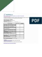 Modelo Programa de Auditoria Sobre Inversiones