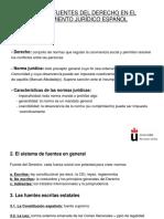 Tema 3 Las fuentes del Derecho en el ordenamiento jurídico español.ppt
