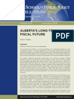 ALBERTA'S LONG-TERM FISCAL FUTURE