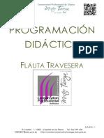 Programacion Flauta Mestre Tarrega