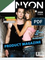 Canyon Product Magazine