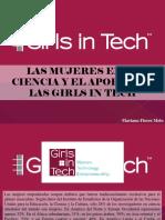 Mariana Flores Melo - Las Mujeres en La La Ciencia y El Aporte de Las Girls in Tech