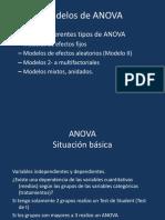 Modelos de ANOVA