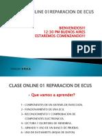 Clase Online 01 Reparacion de Ecus