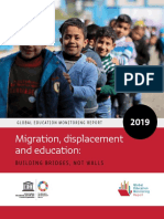 Migration, Displacement and Education; Building Bridges, Not Walls