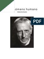 TEILHARD DE CHARDIN, P. El fenomeno humano. Taurus, sf. OCR.pdf