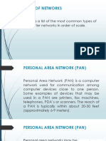 3. Types of Networks