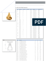 1068 Forged Brass Full Bore Gate Valve