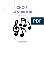 choir handbook mhiggins