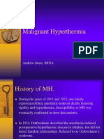 Malignant Hyperthermia - Pathophys