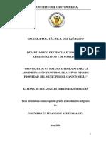 ADMINISTRACION DE ACTIVOS FIJOS