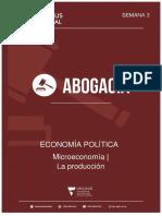 3- Microeconomía - Producción