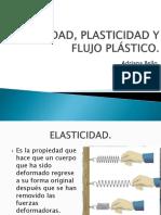 Elasticidad, Plasticidad y Flujo Plástico
