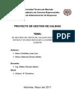 Atencion Al Cliente Proceso de Ventas PAYLESS