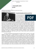Bourdieu e Jacotot_ Educação Para Emancipação Intelectual – Filosofonet