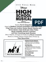 High School Musical Libretto