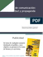 Medios de Comunicación Publicidad Ppt