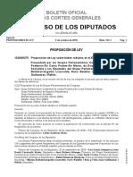 Proposición de Ley sobre bebés robados en el Estado Español / Noviembre 2018