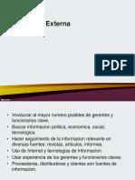 Evalucion Del Entorno Externo