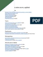 Recursos Online Sobre Scrum y Agilidad
