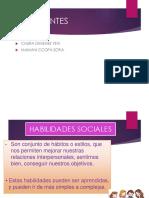 Presentación HABILIDADES  SOCIALES